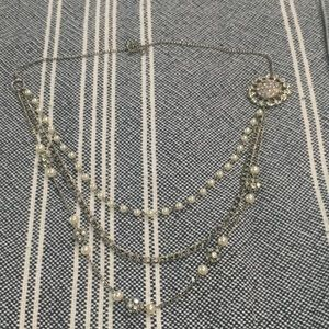 Pear and Jewel Necklace